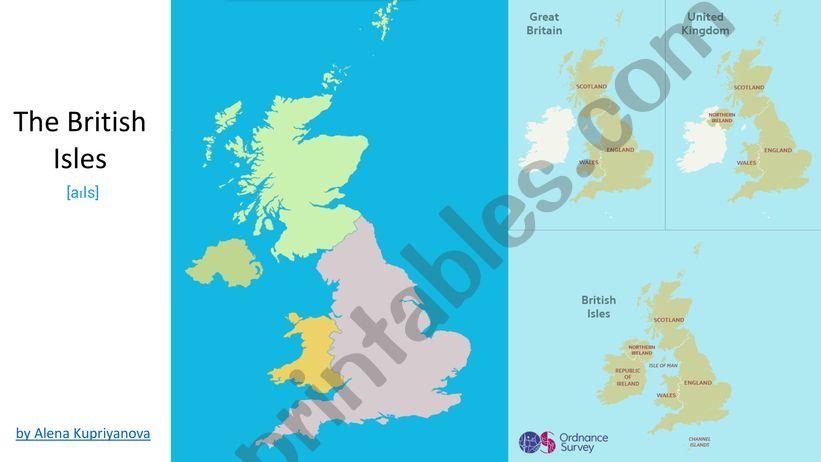 British Isles powerpoint