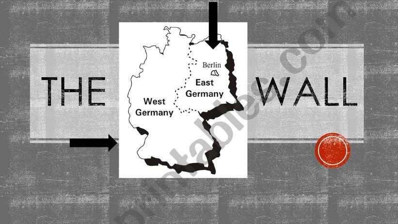 The Berlin Wall  powerpoint