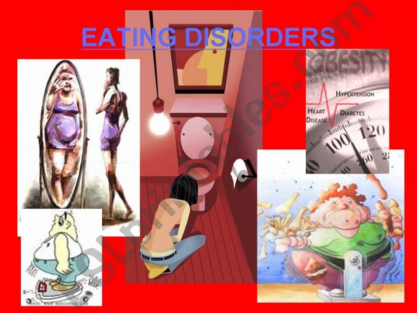 Eating Disorders (1st part ) powerpoint