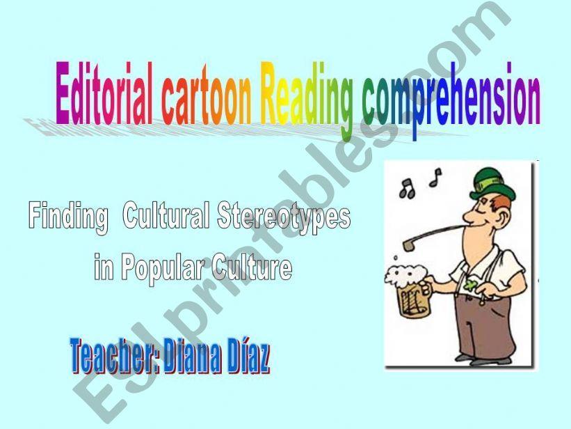 Editorial Cartoon reading Comprehension