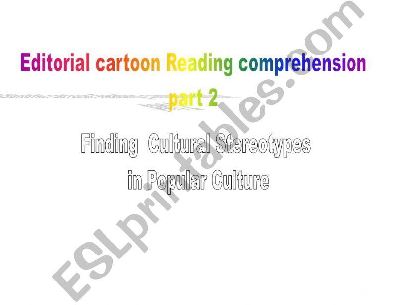 Editorial Cartoon reading Comprehension part2