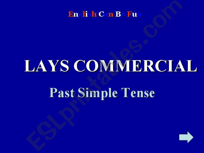 Past Simple Tense - interactive activity