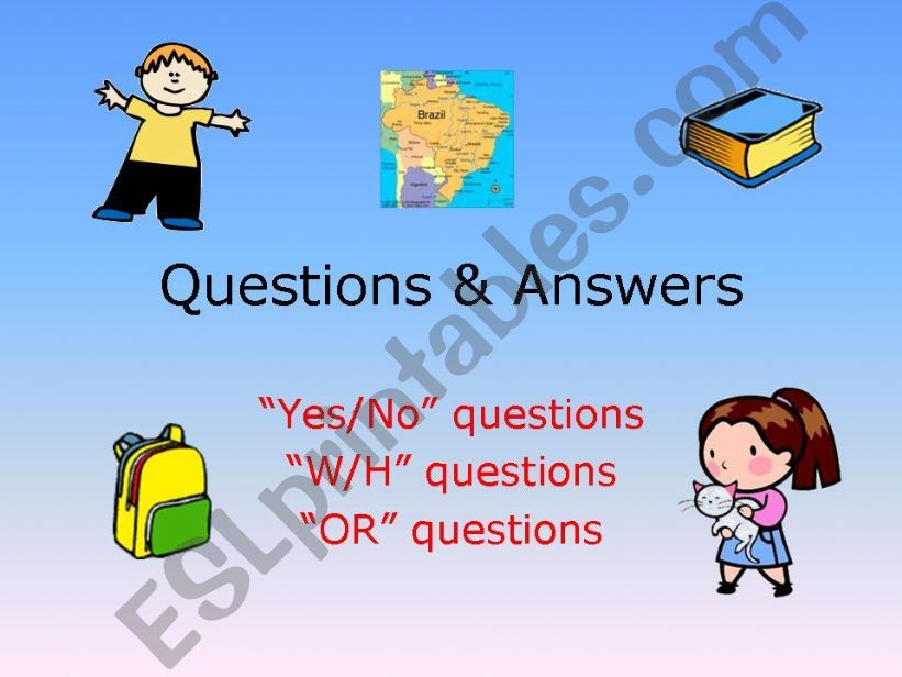 Questions & Answers powerpoint