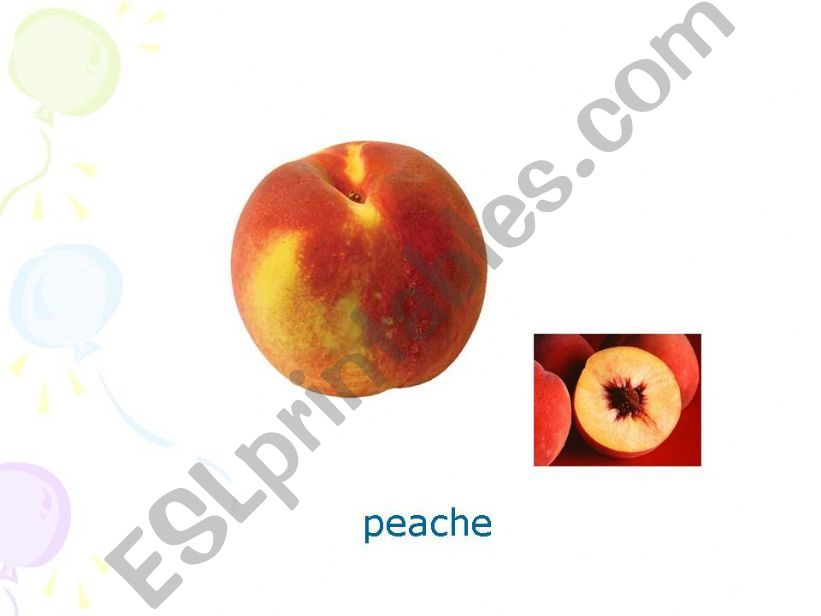 Fruits Pres Part 4 powerpoint