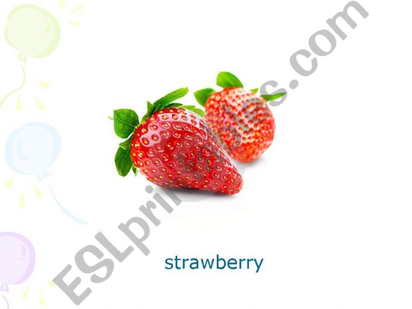 Fruits Pres Part 5 powerpoint