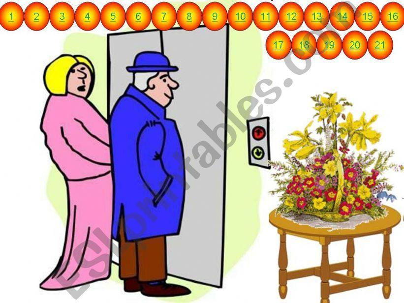 ELEVATOR 0 - PRESENT CONTINUOUS