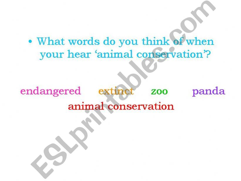 Debate the value of animal conservation _ Part 2