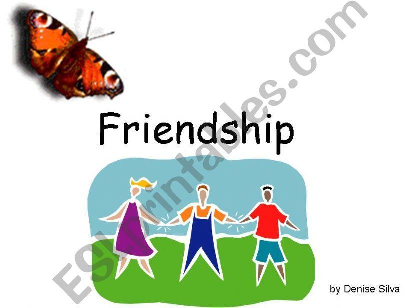 Friendship powerpoint