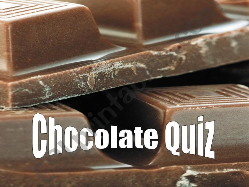 Information about chocolate powerpoint