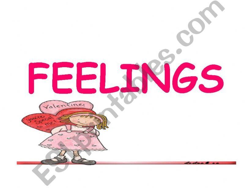 feelings for elementary level powerpoint