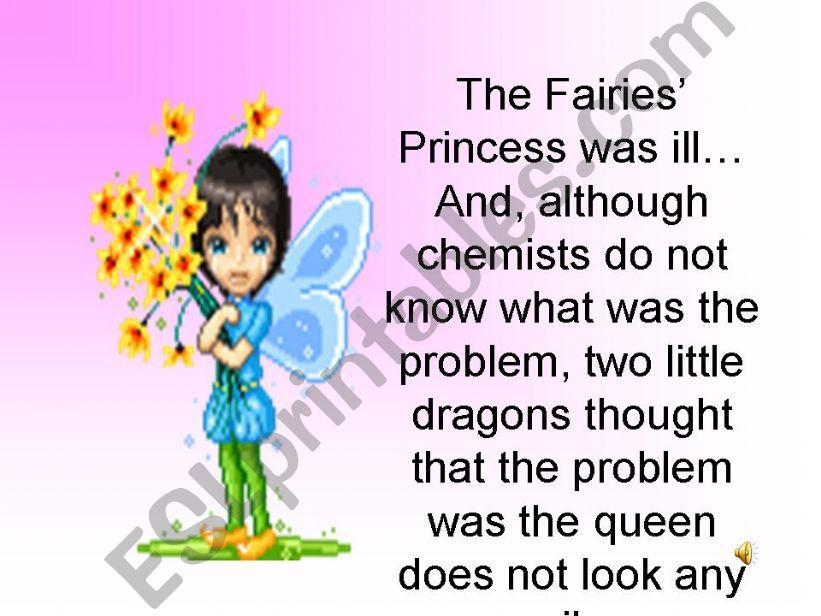 The fairies´ princess powerpoint