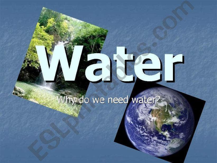 Water (pollution) powerpoint