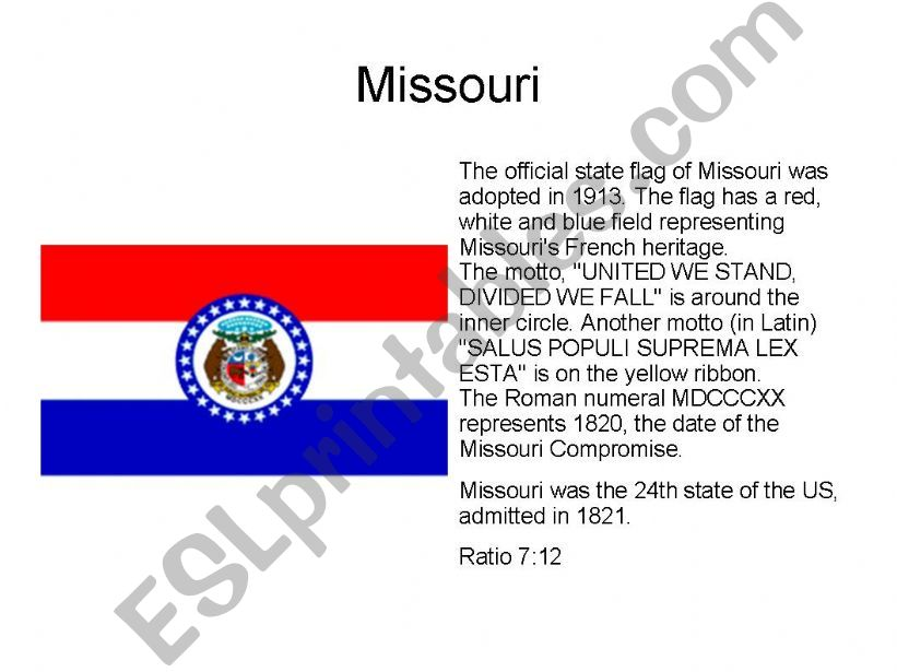 The State Flags of the USA (2/2)