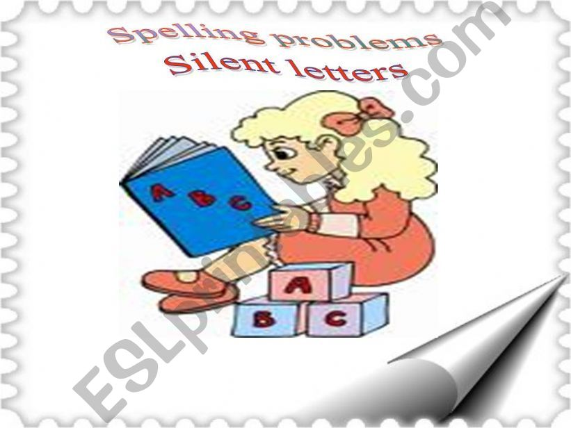 silent letters- game powerpoint