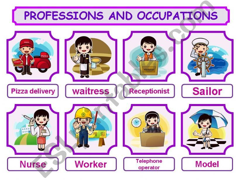 PROFESSIONS AND OCCUPATIONS PRESENTATION 2