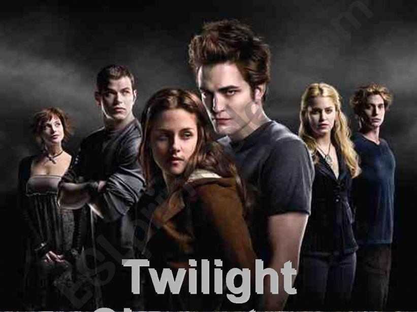 Twilight Characters powerpoint
