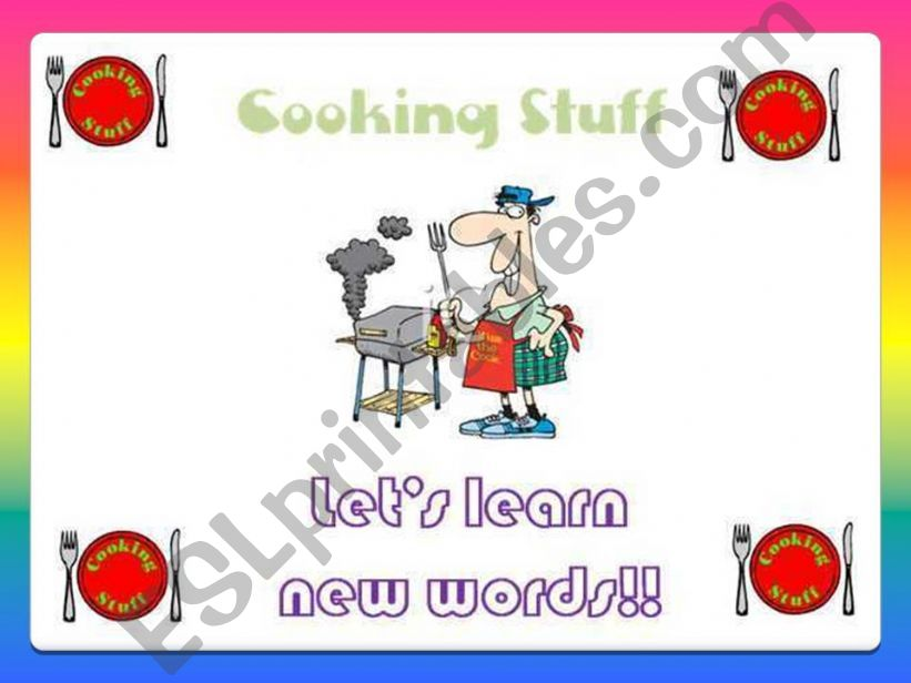 Cooking Stuff!! powerpoint