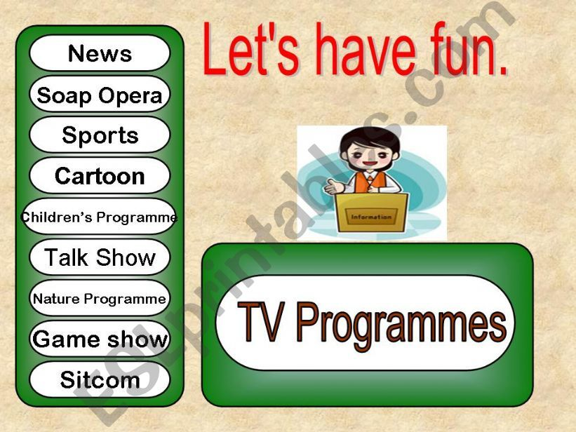 TV Programmes powerpoint