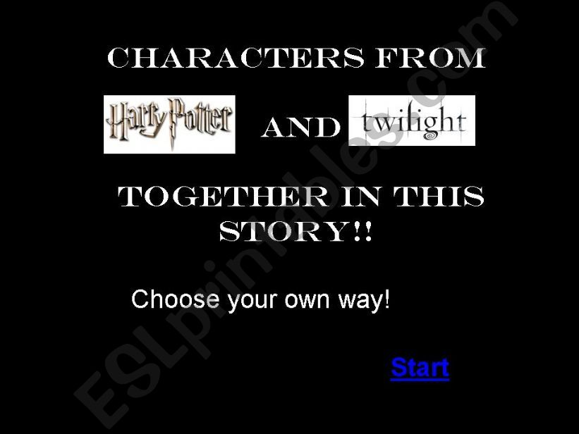 Characters from Harry Potter and Twilight together in this story!
