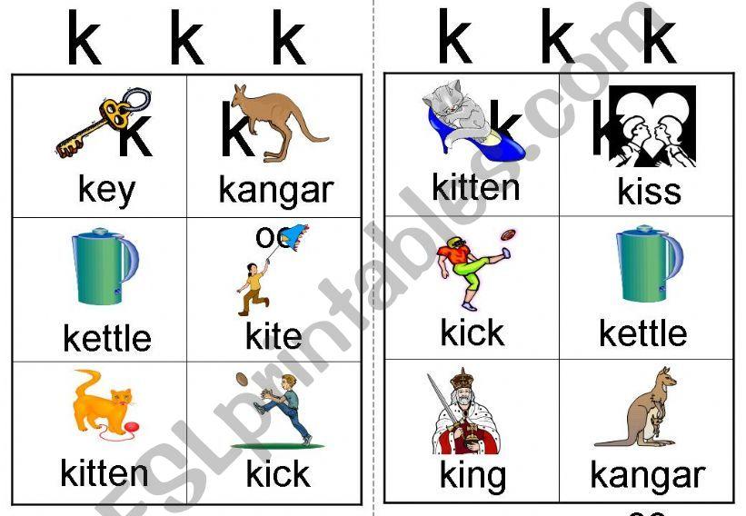 k workcard powerpoint