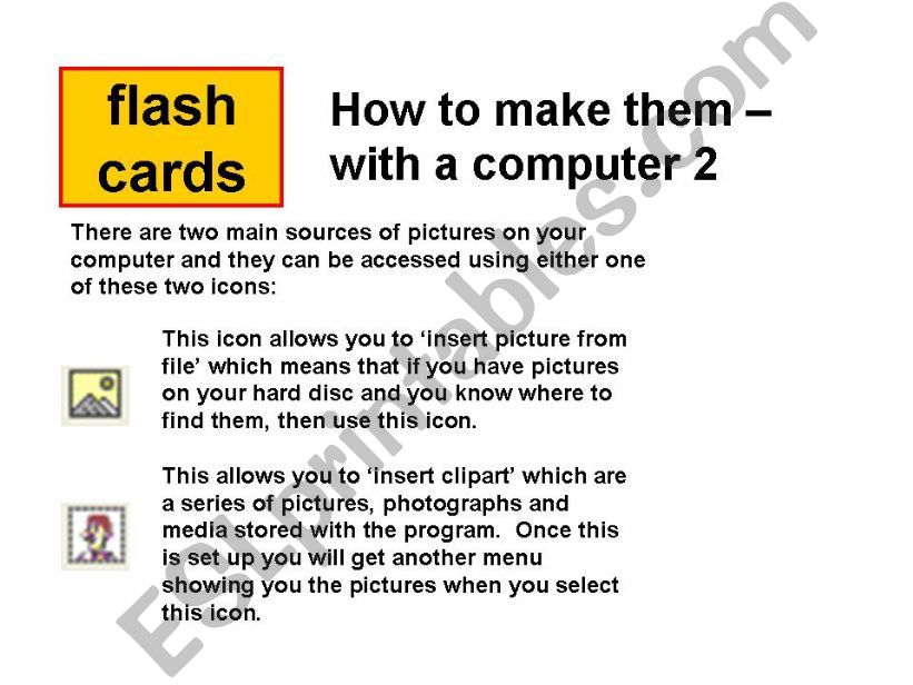 How to make flash cards in Word 2
