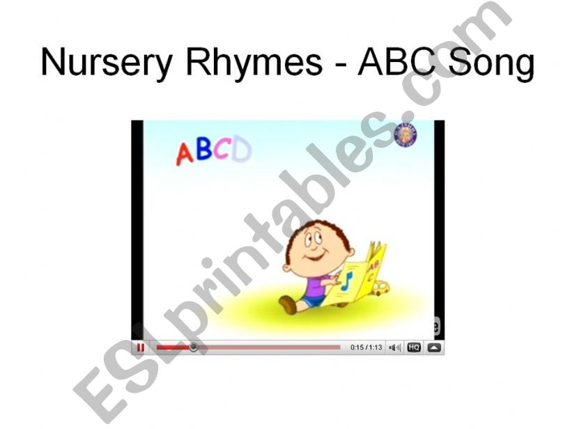 Welcome to school ABC Song Video