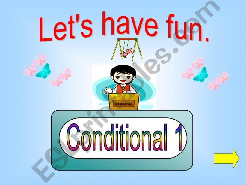 Game -  Conditional 1 powerpoint