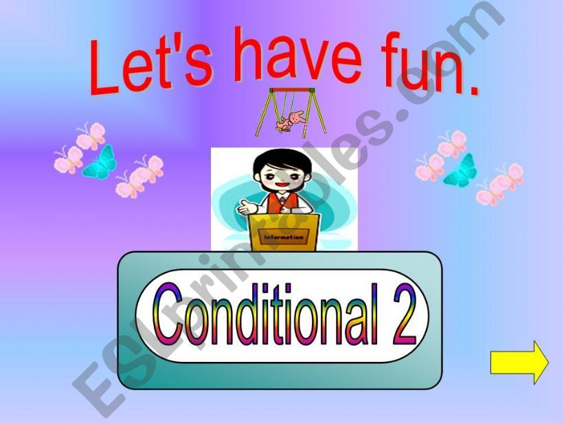 Game - Conditonal 2  powerpoint
