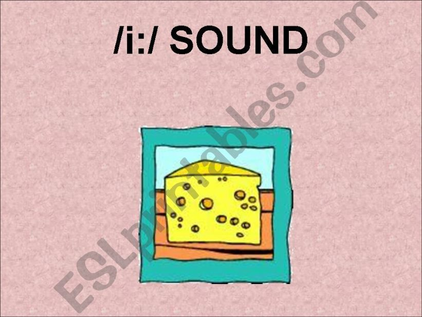 SPELLINGS OF /i:/ SOUND powerpoint
