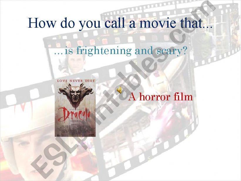 Movie genres_Part 2 powerpoint