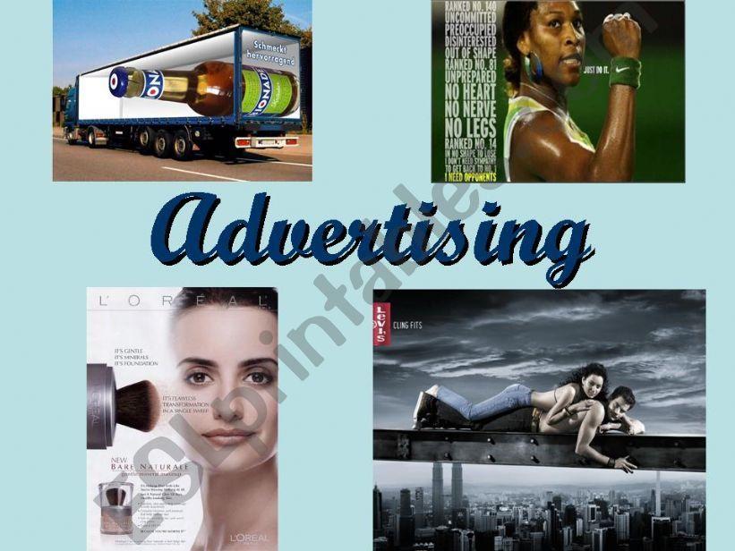 ADVERTISING (1/5) powerpoint