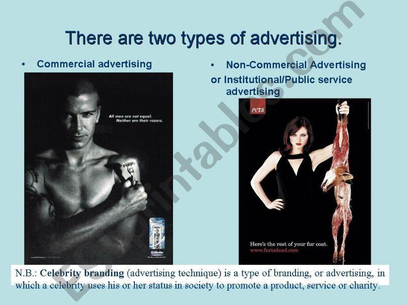 ADVERTISING (2/5) powerpoint