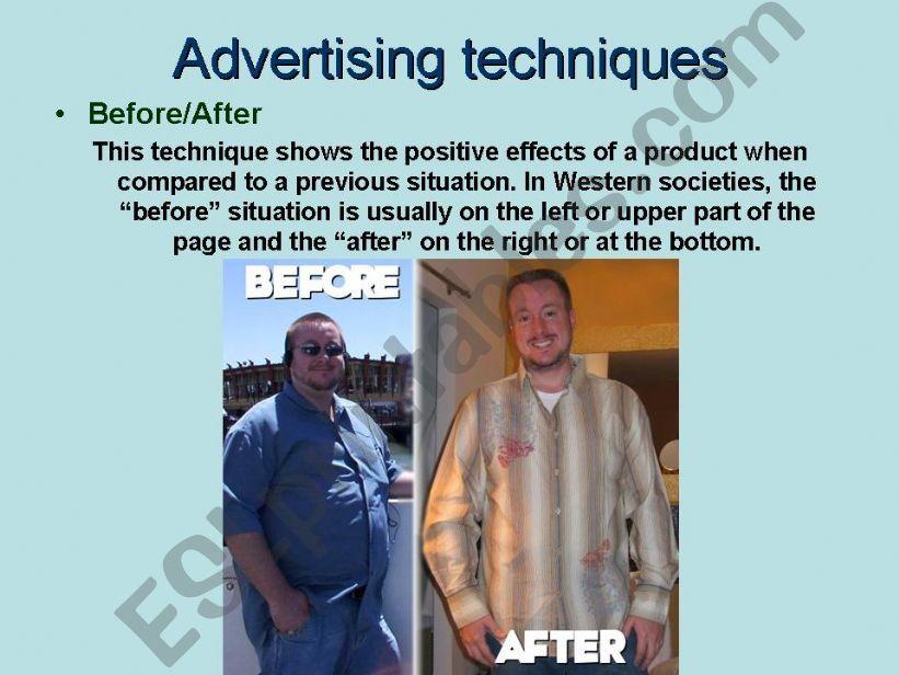 ADVERTISING (3/5) powerpoint