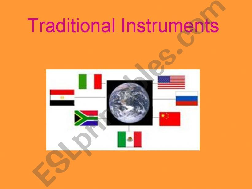 traditional musical instuments around the world 1/7 (Africa)