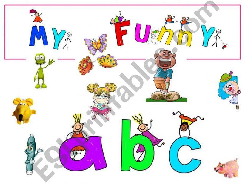 My funnu ABC powerpoint