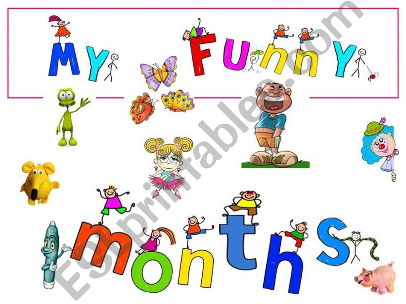 My funny months powerpoint