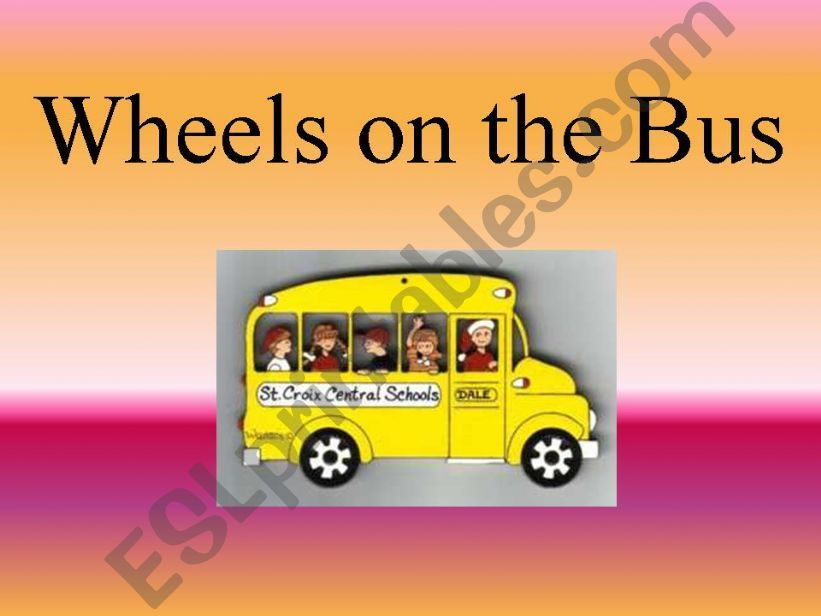 Wheels on the Bus Sing Along