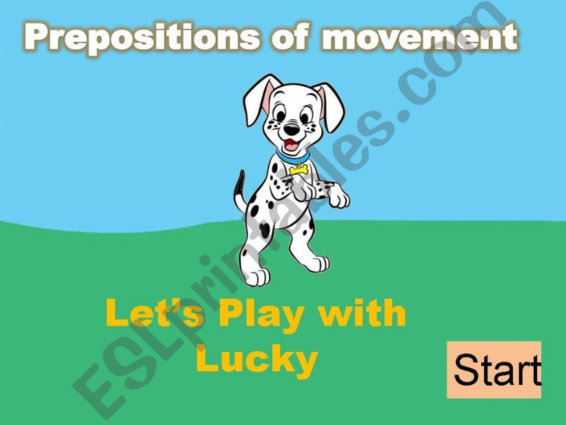 PREPOSITIONS OF MOVEMENT - Part 1/2 INTERACTIVE GAME(fully editable)