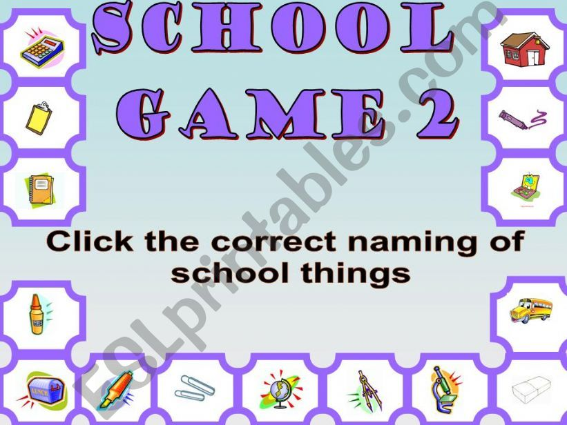 School 2 powerpoint