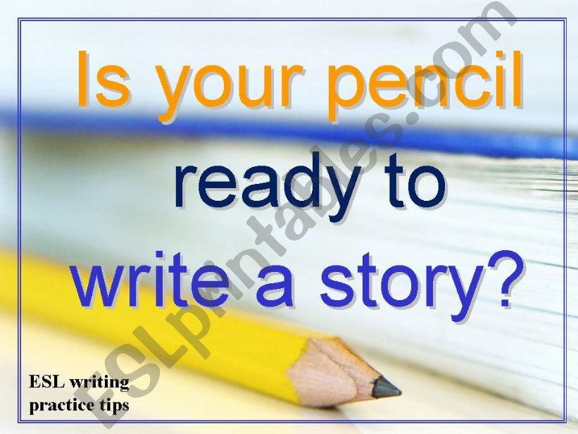 Story Writing Practice powerpoint