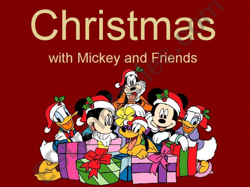 Christmas with Mickey and Friends