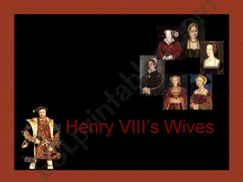 Henry VIII´s Wives powerpoint
