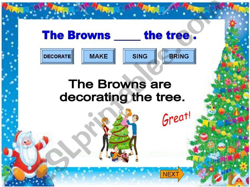 Christmas  2/3 powerpoint