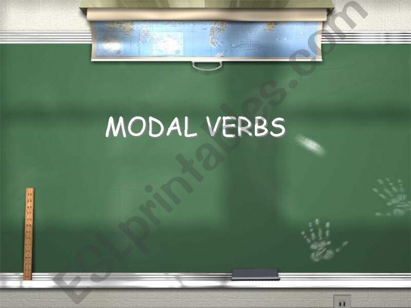 Modal Verbs: Explanation and Practice