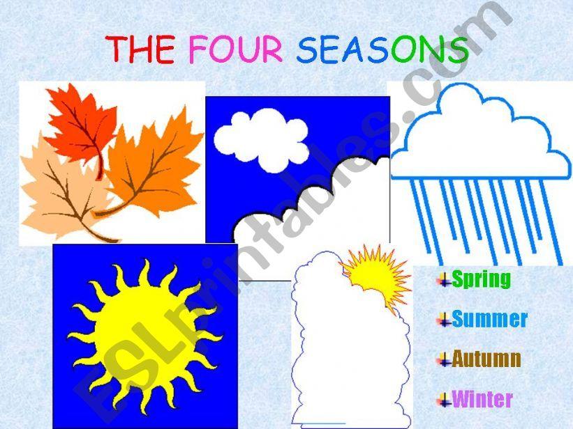 The 4 Seasons powerpoint