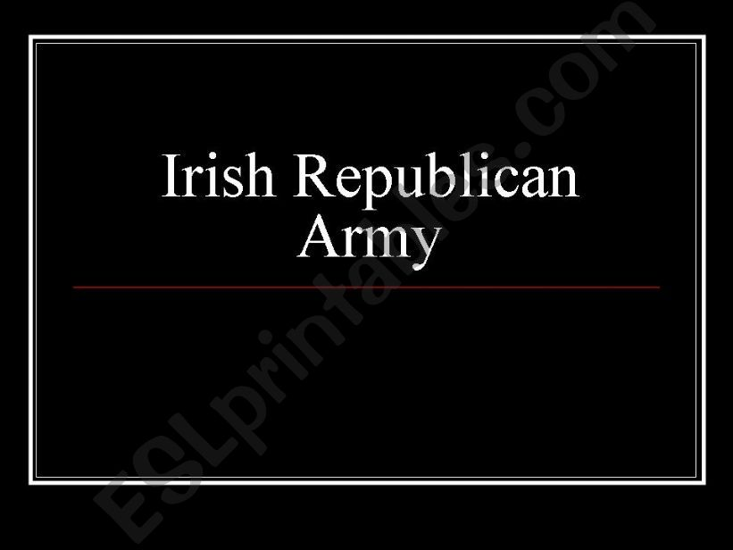 IRA powerpoint