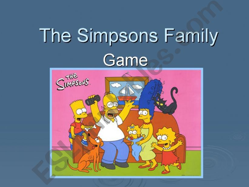Family game powerpoint