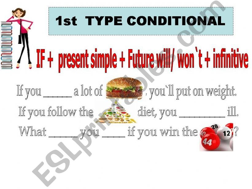 FIRSTTYPE CONDITIONAL powerpoint