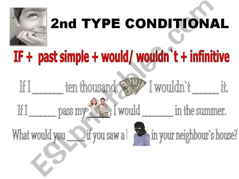 SECOND TYPE CONDITIONAL powerpoint