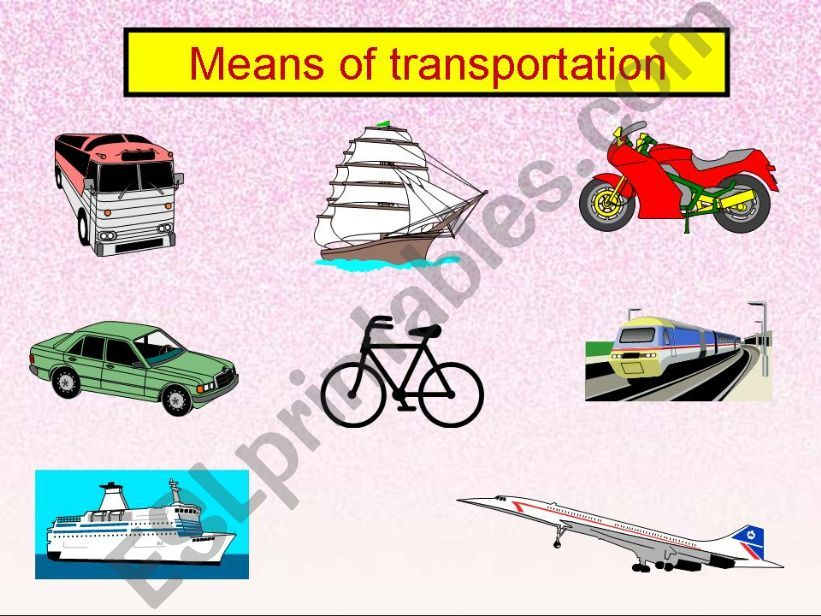 ESL - English PowerPoints: Traffic problem